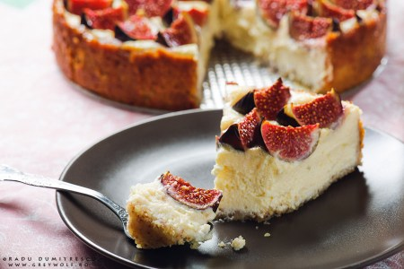 Fotografie culinara | Cheesecake cu smochine