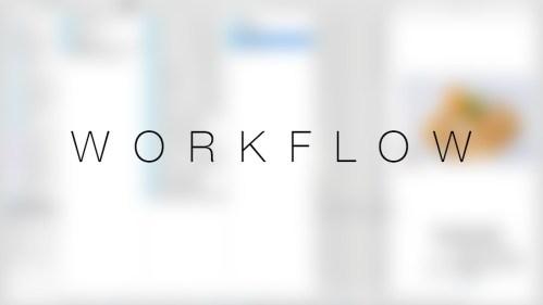 Workflow -> Selectarea imaginilor