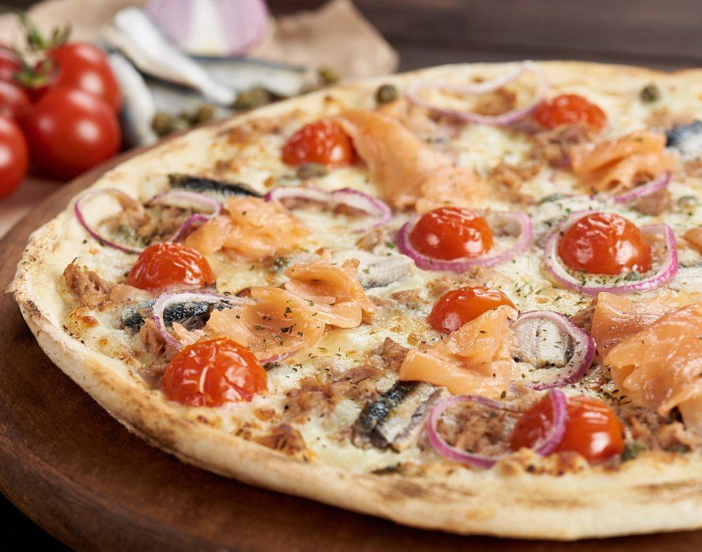 Fotografie culinară cu pizza Trenta Artigianale Pescara