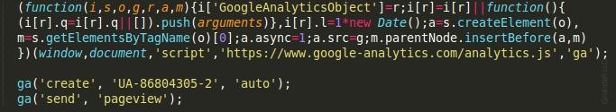 scammers google analytics