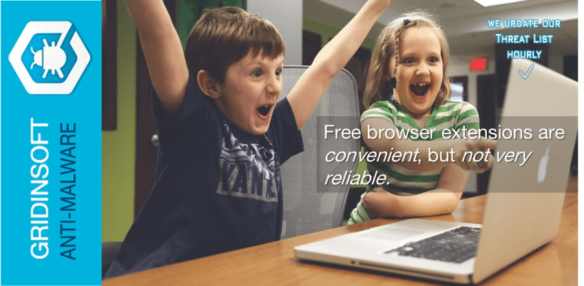 Free browser extensions are convenient, but not very reliable