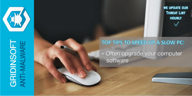 Lastly, often upgrade your computer software