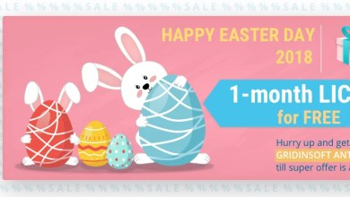 Photo of Happy Easter's Promo from GridinSoft!