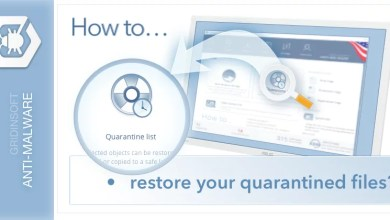 Photo of How To restore quarantined files?