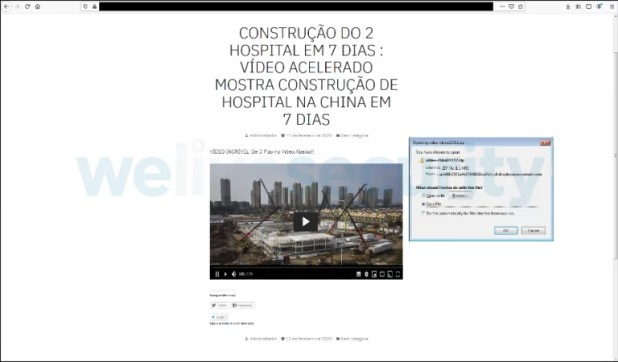 Grandoreiro spreads through fake videos