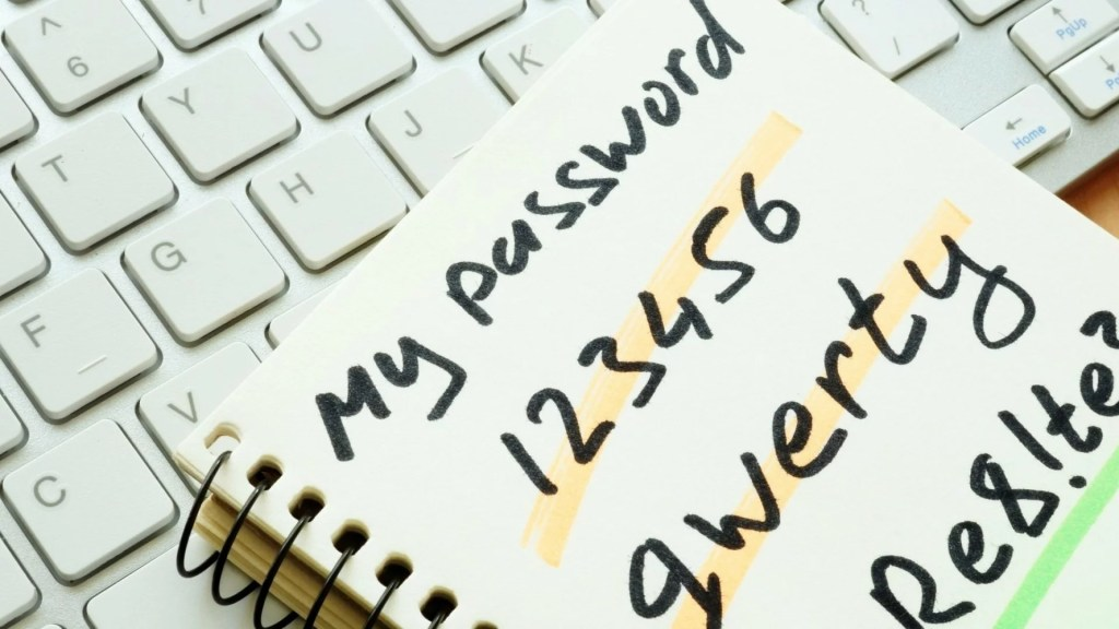 """Though 2020 is ending, the list of worst passwords is still topes """"123456"""""""