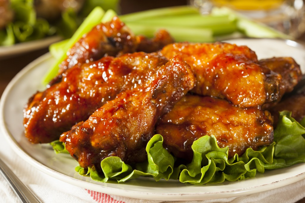 A buffalo wild wings fundraiser is an amazing chance to eat these beautiful juicy wings!