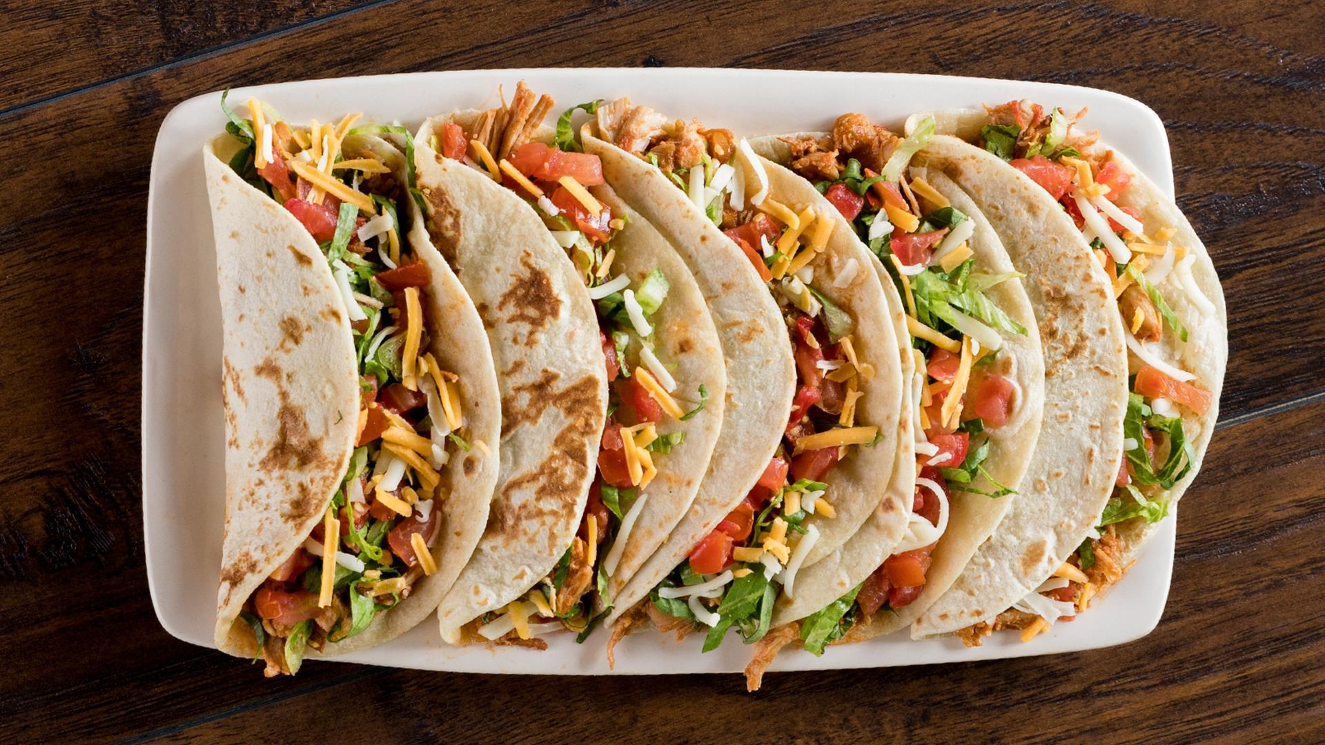 Some delicious $2 tacos are a feature of On The Border fundraising, similar to Chili's fundraising!