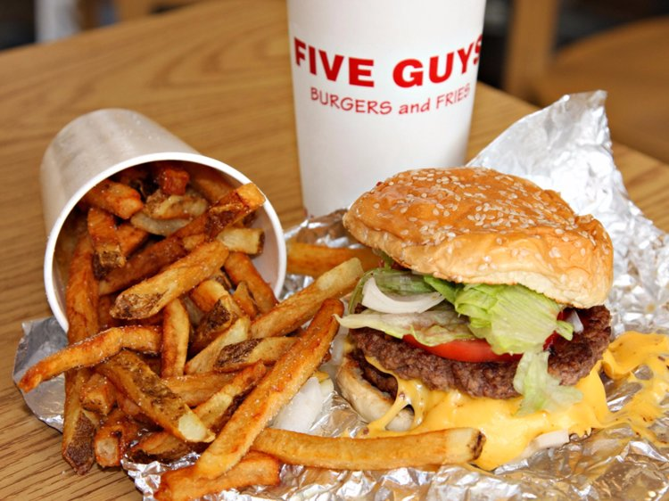 Five Guys burgers are legendary!