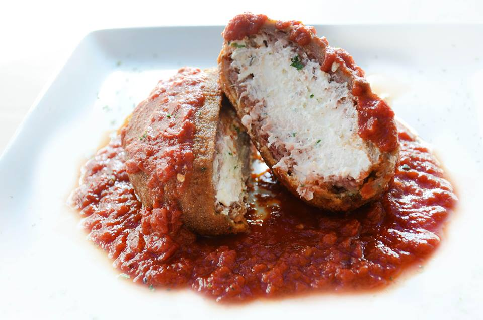 The stuffed meatball is a fan favorite at Cafe Z