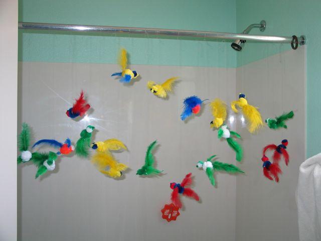 bird craft flying