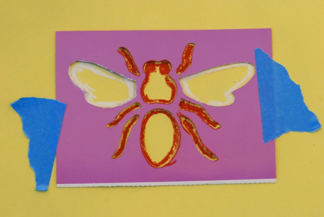 bee-stencil-step-1