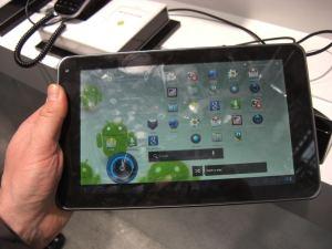 LG V900 Optimus Pad – wieder nix für Speckfinger!