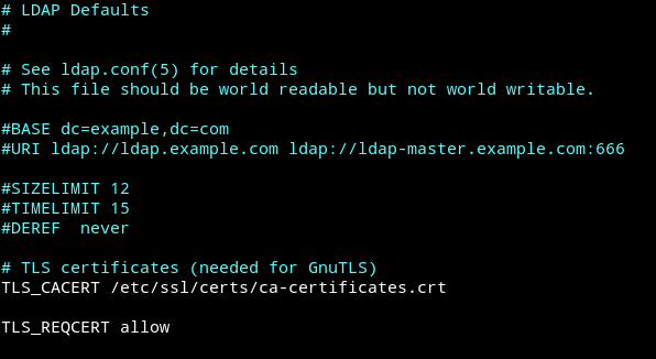 PHP ldap_bind failed mit SSL auf Samba-AD