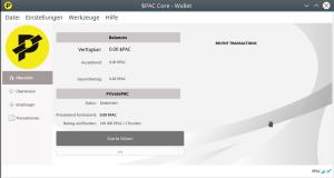 $PAC Wallet mit Ubuntu 16.04 betreiben