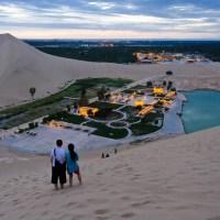Lago de la Media Luna, el oasis que da vida al desierto de Gobi