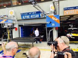Stand Apline-Nissan 24H du Mans 2015