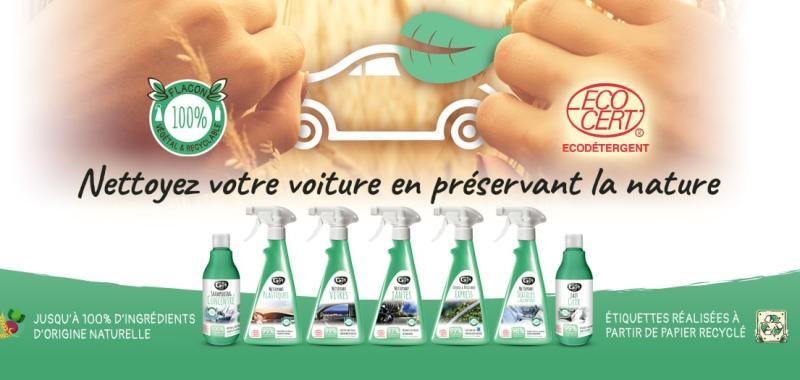 Nettoyez votre voiture en préservant la nature ...