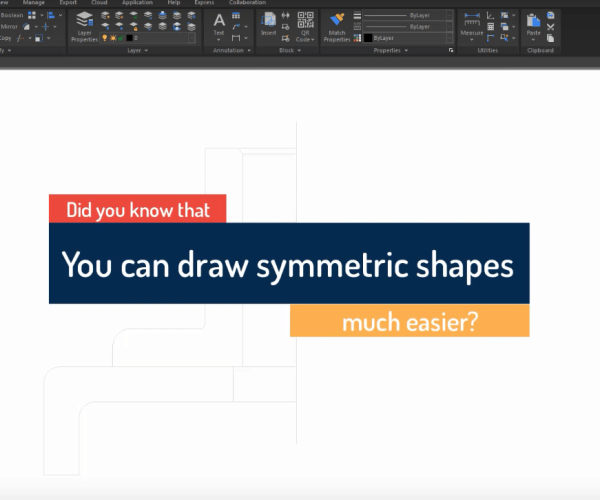 How to directly draw symmetric shapes with Symmetric Draw