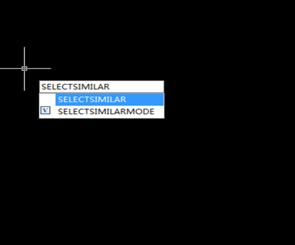 How to select objects or blocks with shared properties using Select Similar Command?
