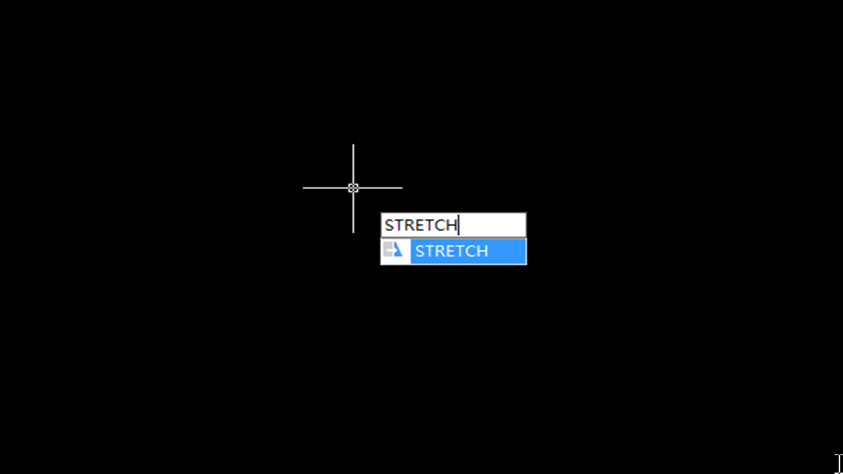 Tips for CAD Stretch command