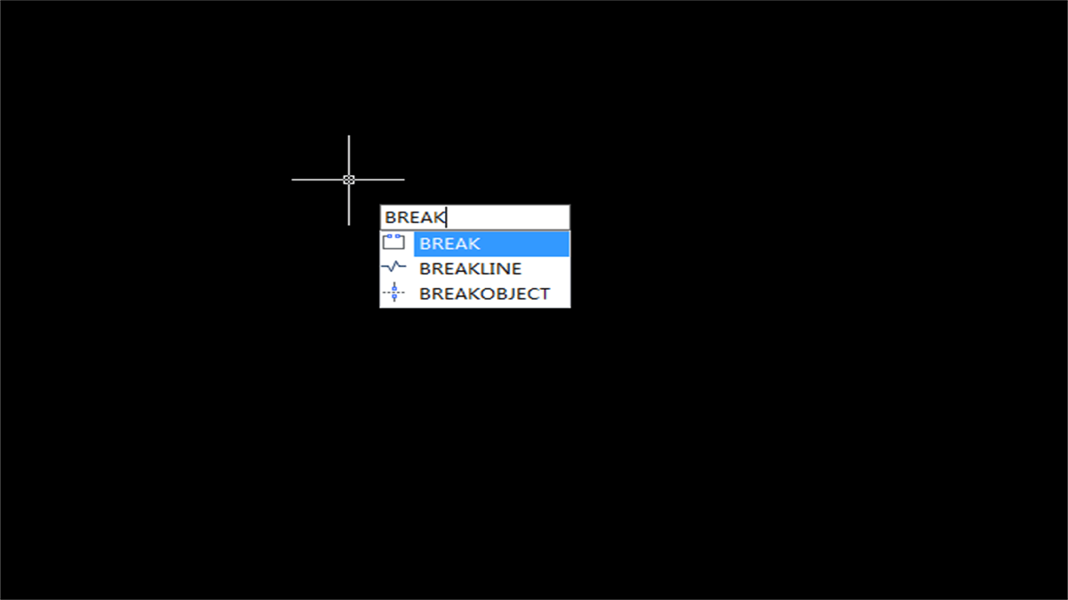 Tips for GstarCAD BREAK Command
