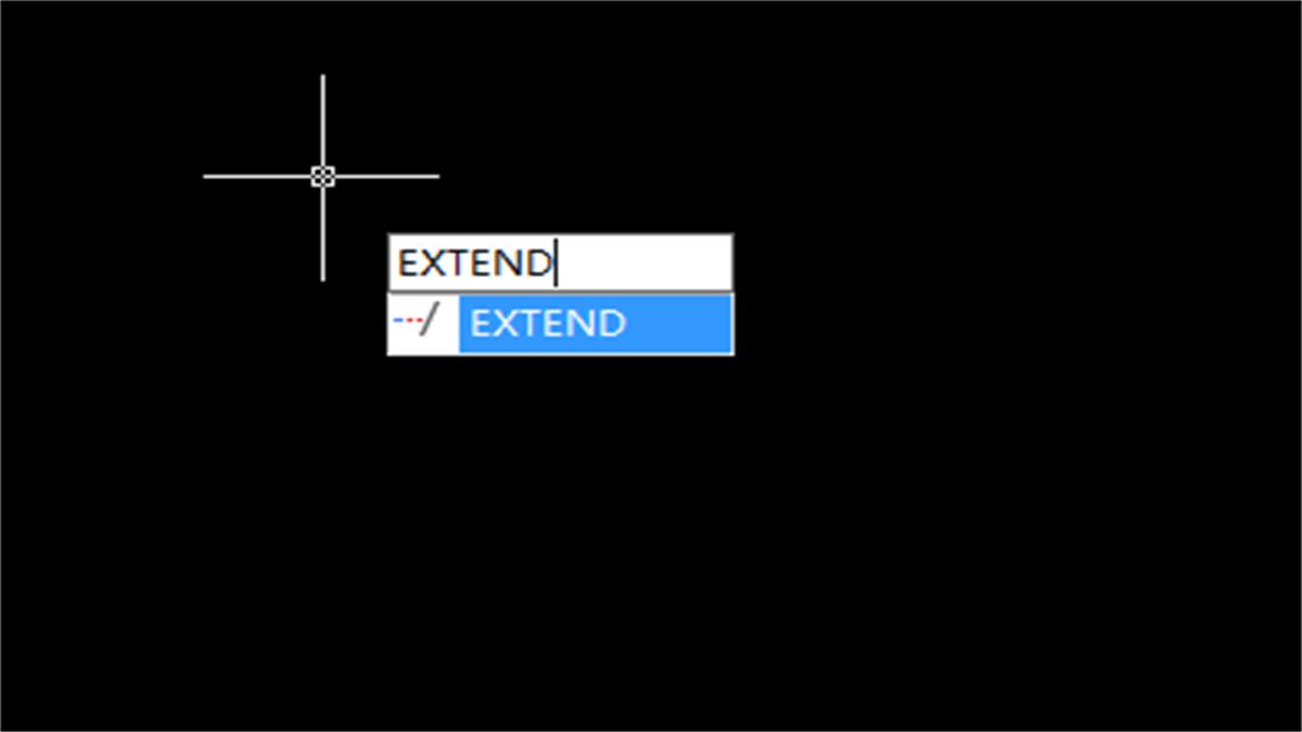 Extend Command for beginner