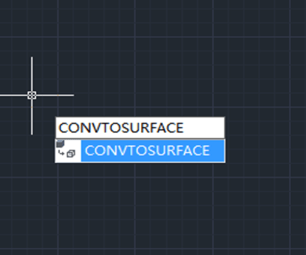 New 3D functionality in GstarCAD 2021: CONVTOSURFACE