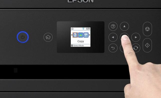 Aprenda a fazer a limpeza da cabeça da impressão Epson L4160 pelo painel da impressora