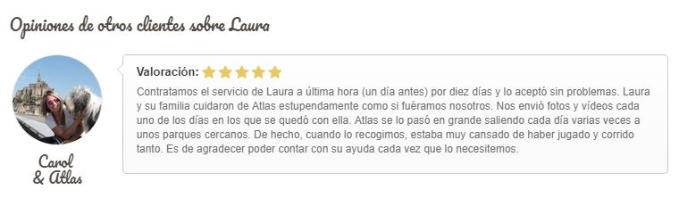 Laura Gudog Sagrada Familia