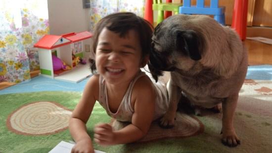 Pug+girl