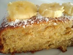 gâteau banane menu de fête chien