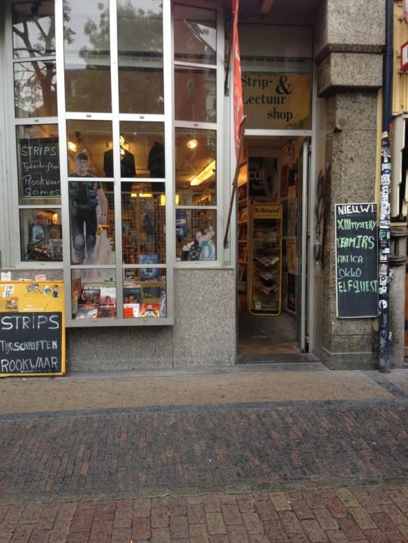 Strip- & Lectuurshop sells comics, but with a more alternative focus.