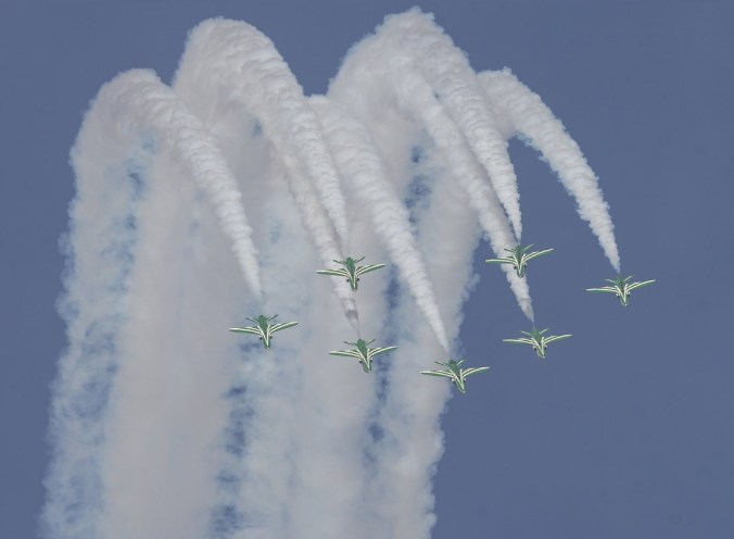 السعودي airhsow national day