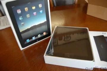 iPad開封