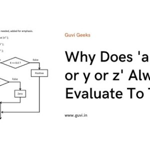 Why Does 'a ==x or y or z' Always Evaluate To True?