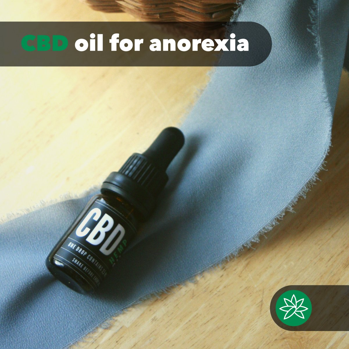 GWEE CBD oil for anorexia