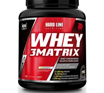 Hardline Whey 3 Matrix 908 Gr