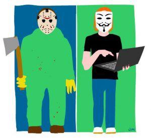 halloween two masked men