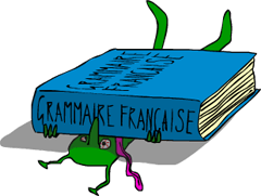 alien crushed grammaire française