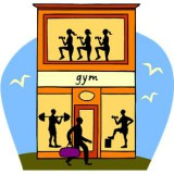 Cartoon Gym
