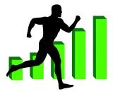 Running man toward higher statistics