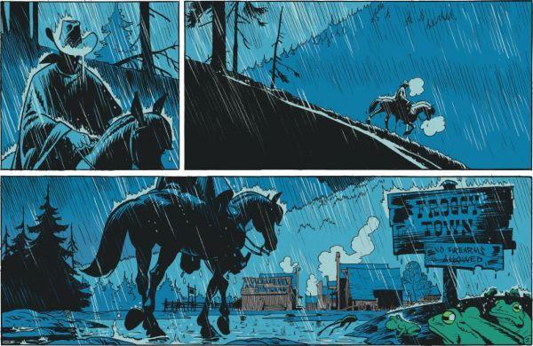Image Matthieu Bonhomme / Lucky Comics