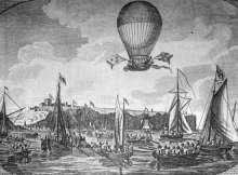 Traversée de la Manche en ballon
