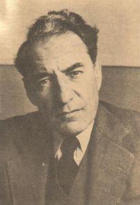 Photograph of Martín Luis Guzmán, 1922.