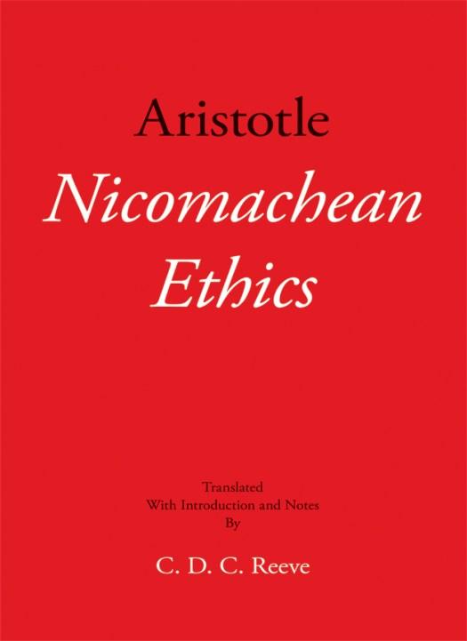 Nicomachean Ethics Cover