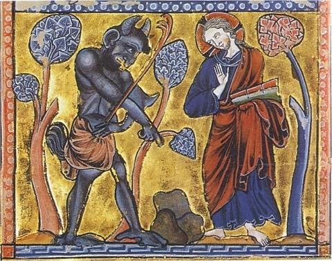 Temptation of Christ Image