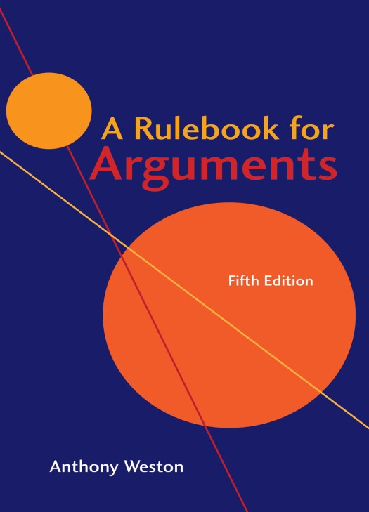 A Rulebook for Arguments 5th edition cover image