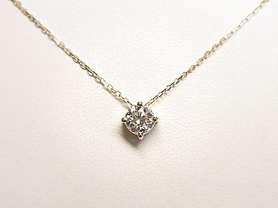 ダイヤモンドプチペンダントのオーダー品【神戸 元町】