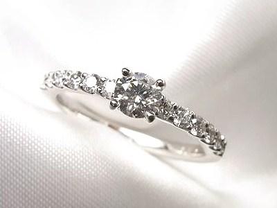 1粒ダイヤモンドリングをキラキラにリフォーム【神戸 元町】